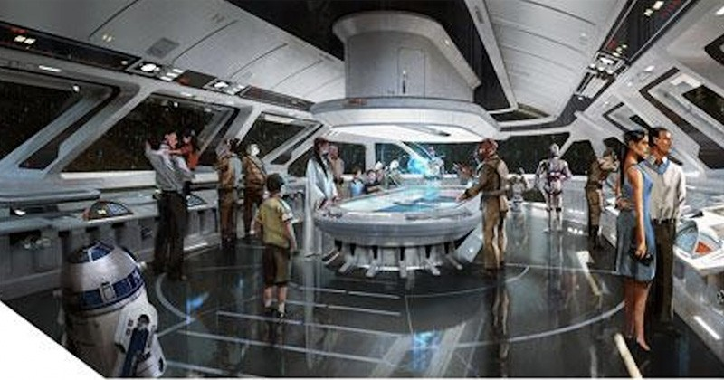 Disney s'apprête à ouvrir un hôtel où vous dormirez... comme dans un vaisseau spatial !