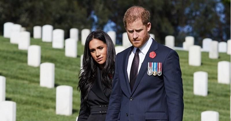 Le prince Harry et Meghan Markle boycottés par Buckingham Palace lors d'une commémoration