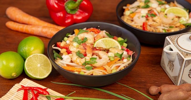 A l'occasion du Nouvel An chinois, cuisinez un Pad Thaï aux crevettes comme un Chef !