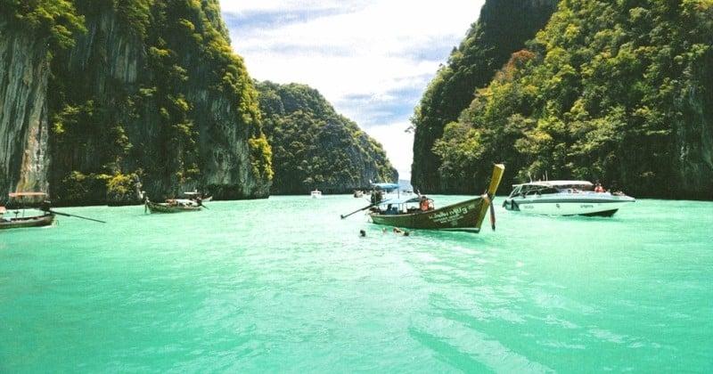 À cause de la destruction de l'environnement, Maya Bay et Koh Phi Phi seront désormais fermées aux touristes