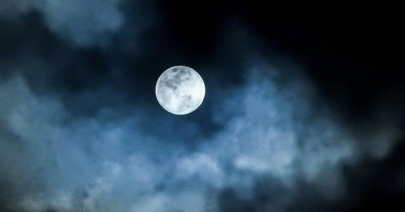 Ce jeudi, la pleine Lune du Loup éclairera le ciel nocturne, la première de l'année