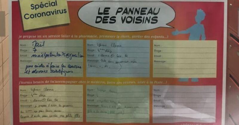 Face au coronavirus, des Français se mobilisent et se montrent solidaires à travers de belles initiatives