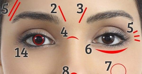 Votre visage peut vous indiquer des choses très importantes ...