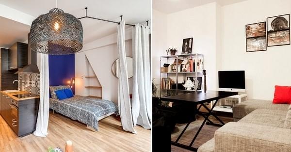 10 Appartements Parisiens De Moins De 30 M2 Réaménagés Avec Beaucoup  Du0027ingéniosité