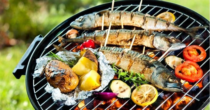 Pour l'été, faites place au poisson grillé au barbecue pour ensoleiller vos vacances !