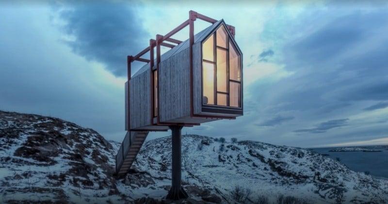Marre des gens ? L'hôtel de vos rêves se trouve en Norvège !