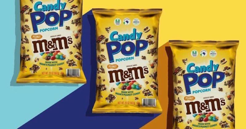 Ce nouveau pop-corn est mélangé avec des M&M'S !
