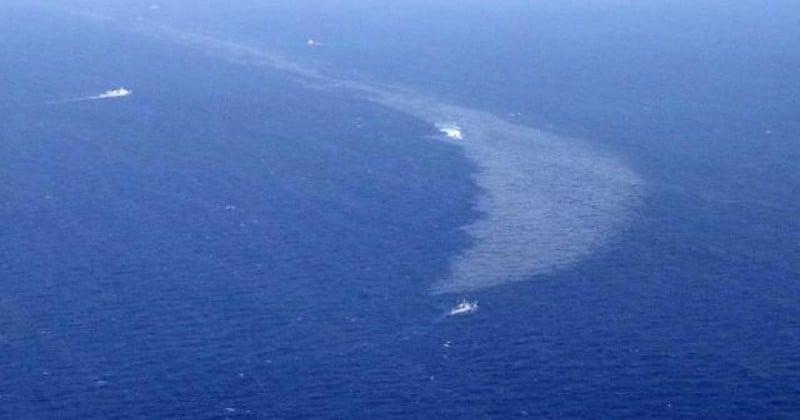 Mer de Chine : la marée noire a triplé de taille en 4 jours et la situation est plus que jamais critique