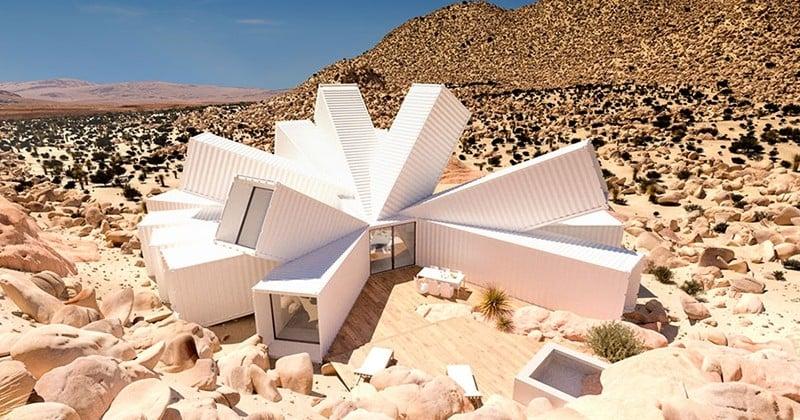 Un architecte construit une incroyable maison avec des conteneurs d'expédition