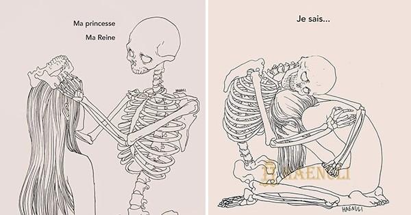 Haenuli, artiste Coréenne, a vaincu sa dépression grâce à l'illustration. Découvrez ses dessins émouvants