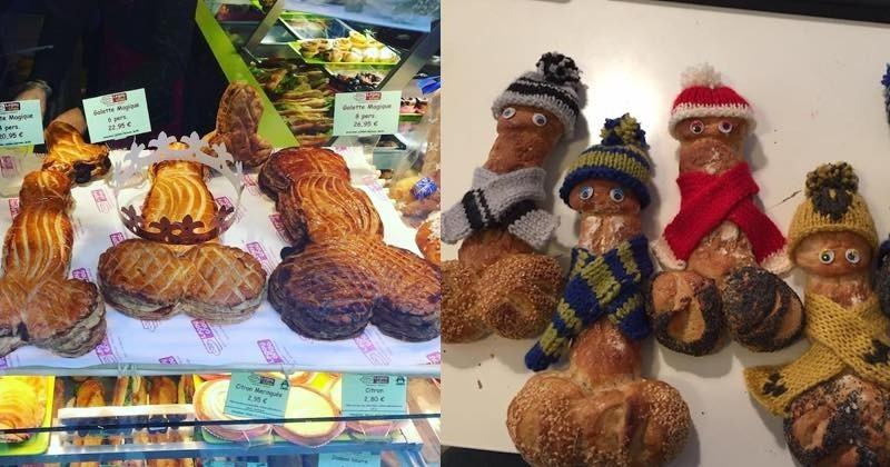 La Boulangerie Legay Choc et ses baguettes coquines dans le Marais !
