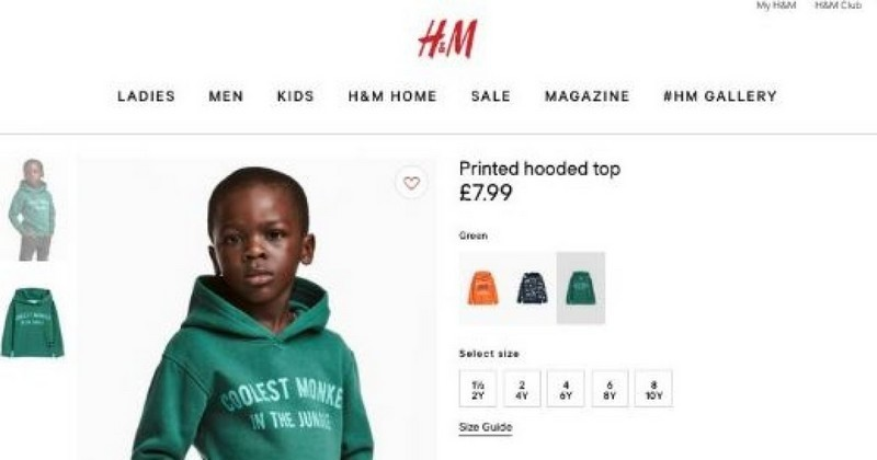 2a365a0c33a13 Le singe le plus cool de la jungle » : le spot publicitaire de H&M ...