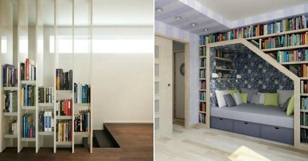 25 biblioth ques hyper originales pour ranger ses livres avec style. Black Bedroom Furniture Sets. Home Design Ideas