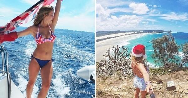 La fille la plus chanceuse : elle est payée pour voyager autour du monde ! Un job de rêve que vous pouvez vous aussi vivre !