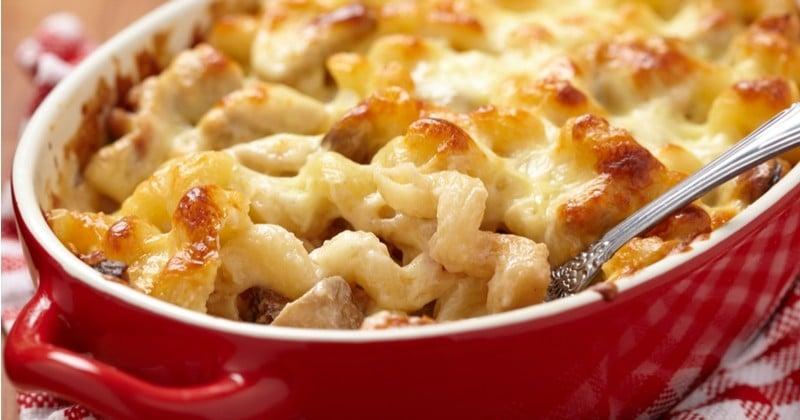 Cuisinez un succulent plat de Mac & Cheese au saumon !