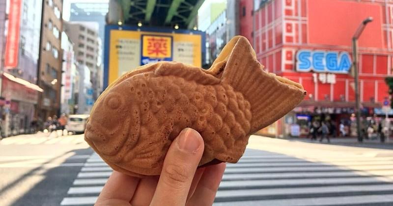 En voyage au Japon? Testez les taiyaki, les gâteaux sucrés stars de la street food locale