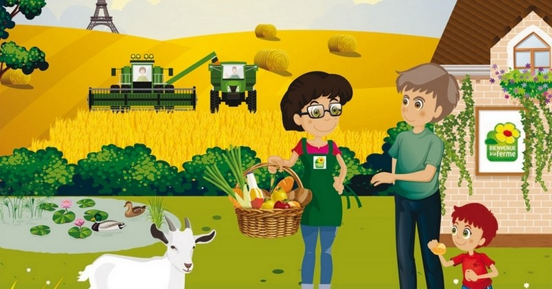 Découvrez la Balade du Goût dans près de 100 fermes d'île-de-France le week-end du 14 et 15octobre 2017!