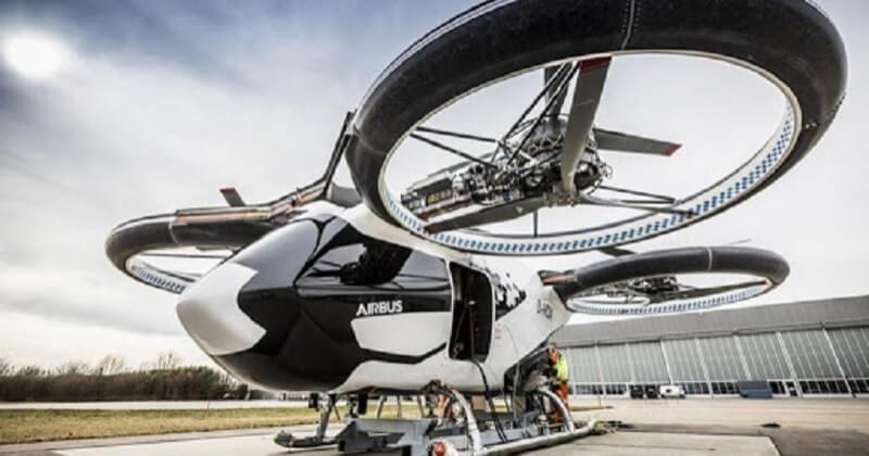 Les premiers tests des taxis volants se feront en juin 2021 à Pontoise