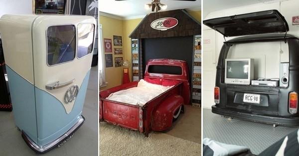 ne vendez pas votre vieille voiture sur leboncoin recyclez la en bureau en jacuzzi ou en. Black Bedroom Furniture Sets. Home Design Ideas