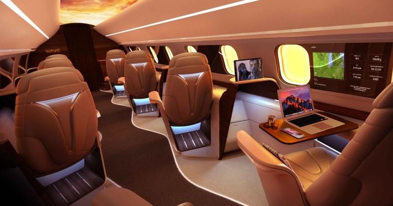 Aura, la compagnie qui vous fait voyager en jet-privé à des prix cassés