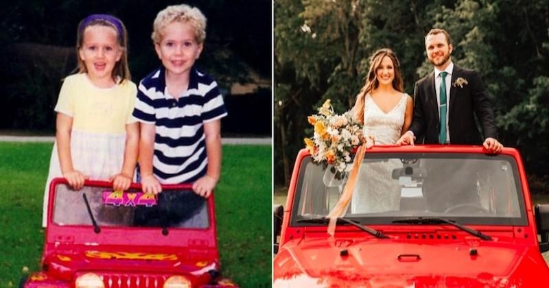 Inséparables en maternelle, ils se perdent de vue puis se retrouvent avant de se marier 19 ans plus tard