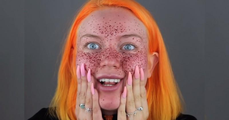 Une séance de coloration du visage au henné qui tourne au vinaigre pour cette YouTubeuse