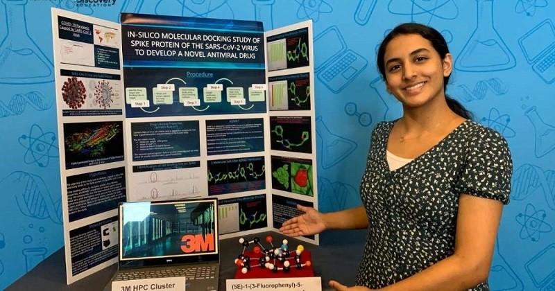 À 14 ans, elle trouve un potentiel traitement qui pourrait vaincre le coronavirus et remporte un concours