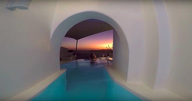 La plus belle suite du monde se trouve en Grèce, on vous la fait visiter