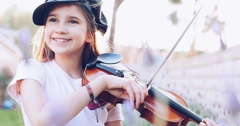 Karolina Protsenko, 11 ans, reprend le tube Dance Monkey au violon