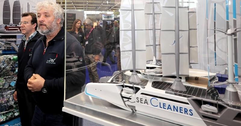 Le Manta, le futur navire hauturier pour nettoyer les océans