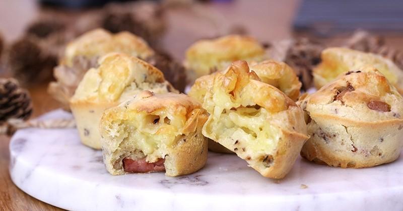muffins au camembert