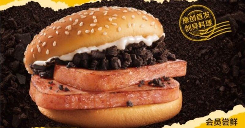 McDonald's lance un burger qui ne donne pas envie !
