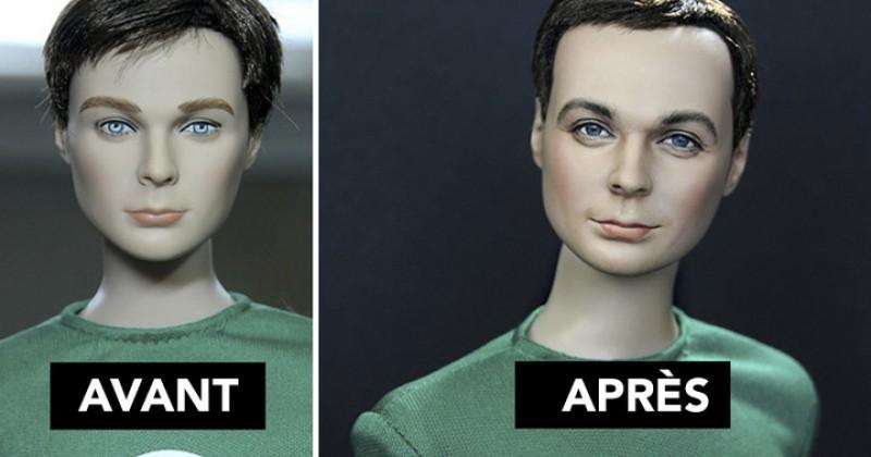 Un artiste donne une seconde vie à des poupées afin de les faire paraître plus humaines... Son travail est magique !