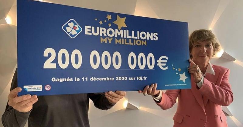 EuroMillions : le vainqueur des 200 millions d'euros va verser une partie de ses gains aux hôpitaux