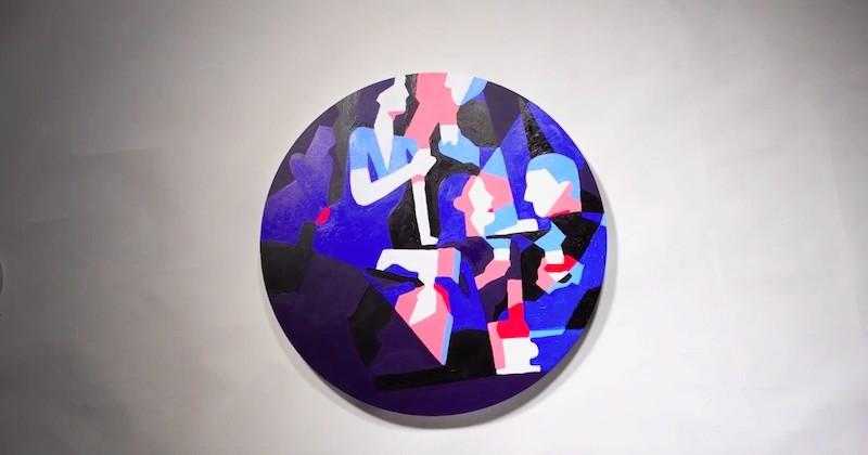 L'artiste Kim Roselier réalise une œuvre sublime inspirée des couleurs du café