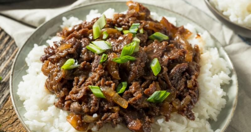 Bulgogi boeuf corée barbecue coréen