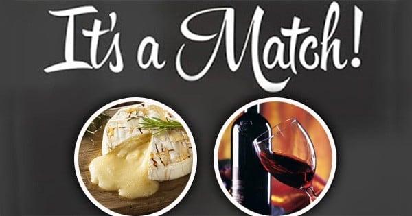 On a inventé le Tinder de la gastronomie, qui permet de faire matcher le bon vin avec le bon fromage !
