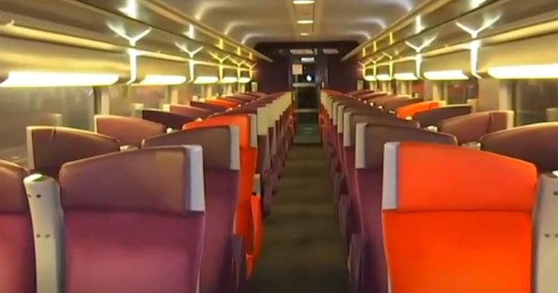 Grève du 5 décembre : les usagers ayant pris leurs précautions, ce TGV est contraint de prendre le départ sans voyageurs
