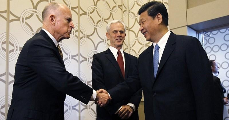 En guise de protestation à Donald Trump, un accord a été signé entre la Californie et la Chine pour le changement climatique !