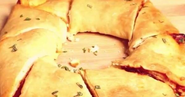 couronne façon pizza