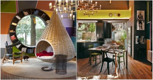 Un couple de designers transforme une maison abandonnée en cabane colorée et le résultat est impressionnant !