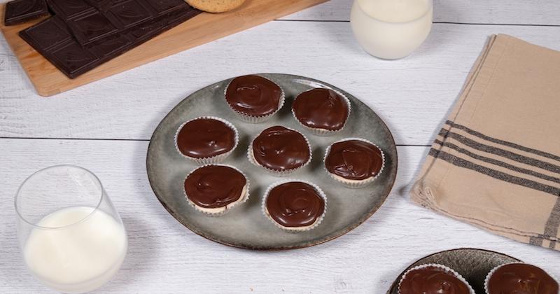 Mini cheesecake peanut butter chocolat Recette