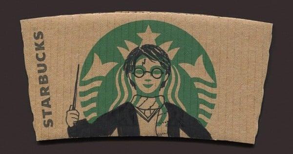 Un artiste revisite l'emblème de Starbucks: ce qu'il en fait est génial!