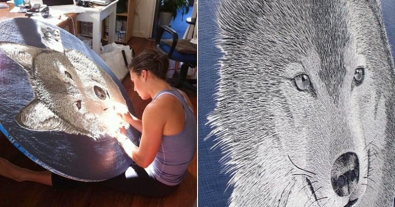 Les oeuvres de cette artiste au talent incroyable sont de véritables bijoux de détails