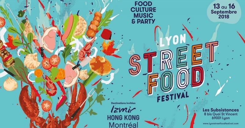 Le Lyon street Food Festival vous donne tous rendez-vous du 13 au 16septembre 2018!