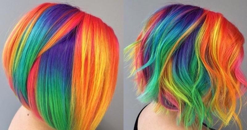 Taylor Rae, la coiffeuse qui teint vos cheveux aux couleurs arc-en-ciel