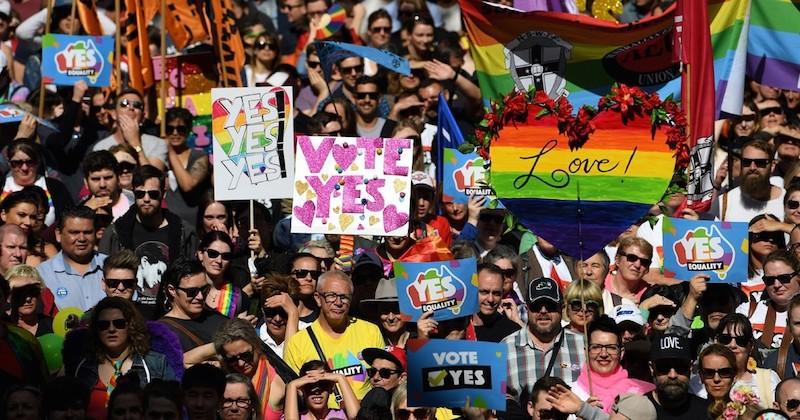 62% des Australiens se prononcent favorables au mariage homosexuel