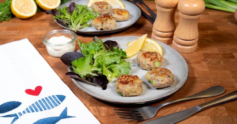 Sardines fishcakes Recette