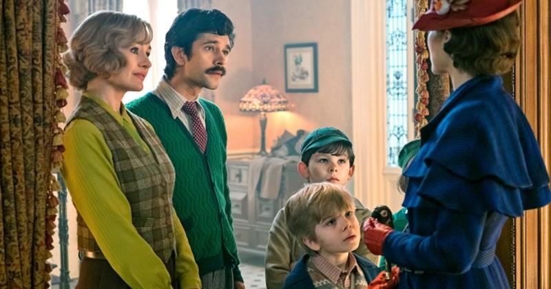 « Le Retour de Mary Poppins » : la nounou la plus incroyable d'Angleterre fait son grand retour dans de premières images inédites !