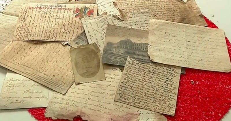 Bretagne: des lettres d'amour d'un poilu, mobilisé en 14/18, retrouvées dans un grenier